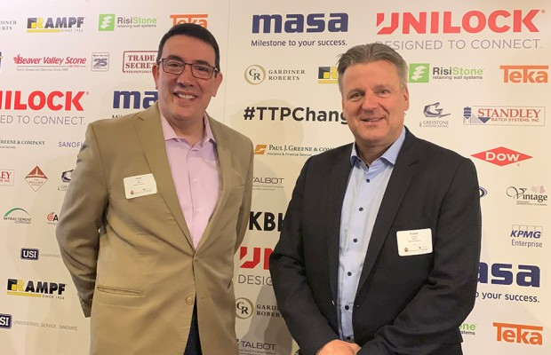 Masa Managing Director Frank Reschke (right) with José Diaz (President & CEO Masa USA) during the